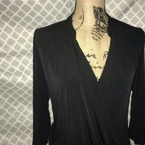 Black New York and company blouse